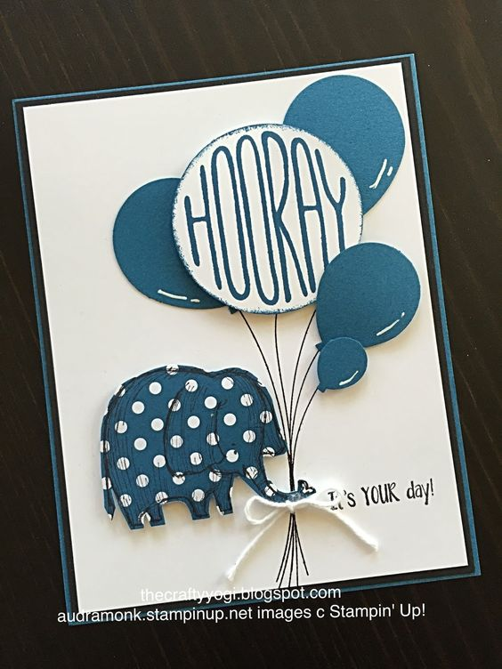 thecraftyyogi.blogspot.com, Dapper Denim, Stampin' Up! Confetti Celebration, Love you Lots, Balloon Bouquet Punch: