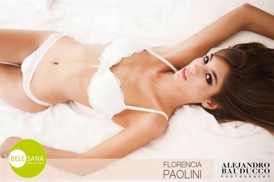 Florencia Paolini. Una de las modelos que confía el cuidado de su espectacular cuerpo en nuestra clínica de estética belesana