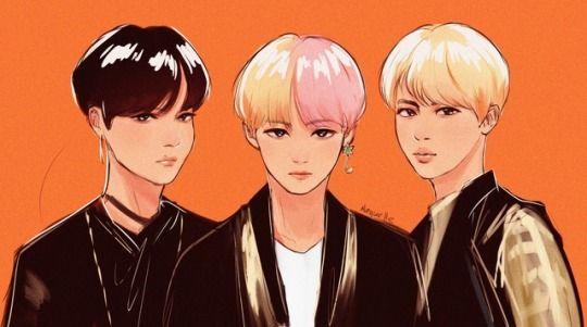 Bts Fanart Idol Tumblr Bts Fanart Fan Art Kpop Fanart