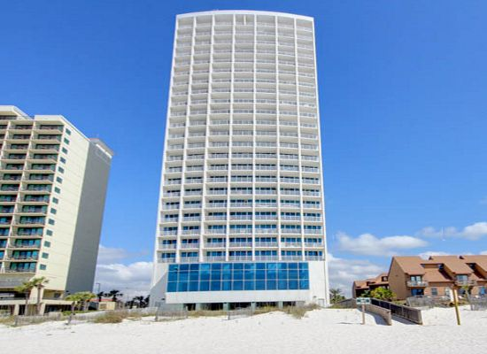 Island Tower Condominium Home in Gulf Shores Alabama Beach Real Estate