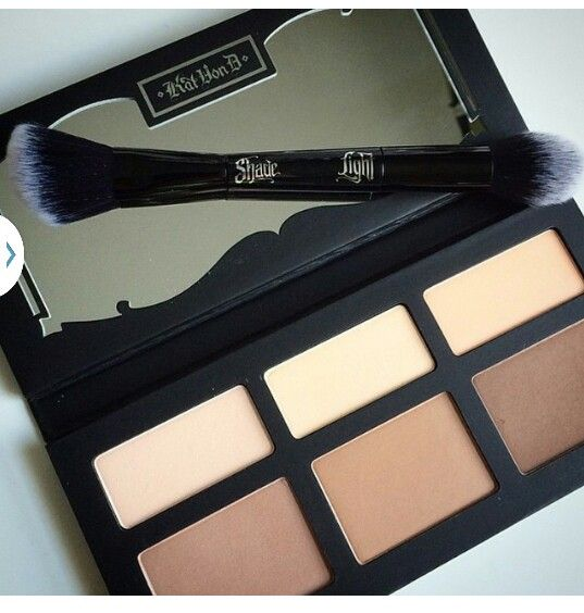 Kat Von D is one of the best makeup brands for contour!