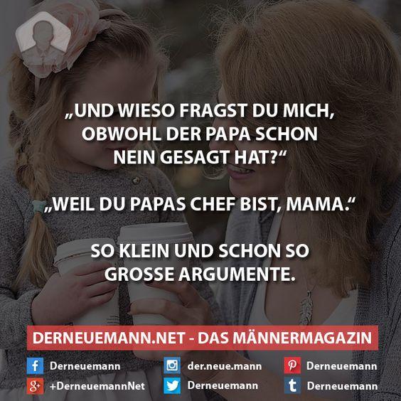Papas Chef #derneuemann #humor #lustig #spaß #sprüche #vater #mutter