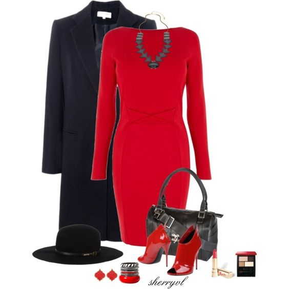 """""""Two Beautiful Contest"""" by sherryvl on Polyvore  (minus the hat)"""