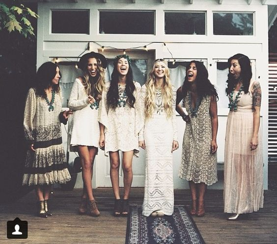 i love the variety of dresses here, but the looks themselves might be too casual...