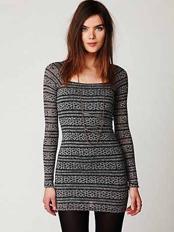 Free People Good Girl Gone Bad Bodycon Dress at Free People ...