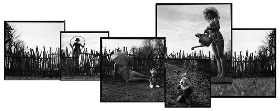 Serie Aseo y Ornato, fotografía análoga 2006