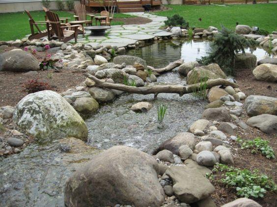 gartengestaltung ideen garten steine gartensteine, Gartenarbeit ideen