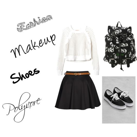 This is so me ! You guys out there that like fashion should check out the website Polyvore.com so and you can make cute outfits like this !