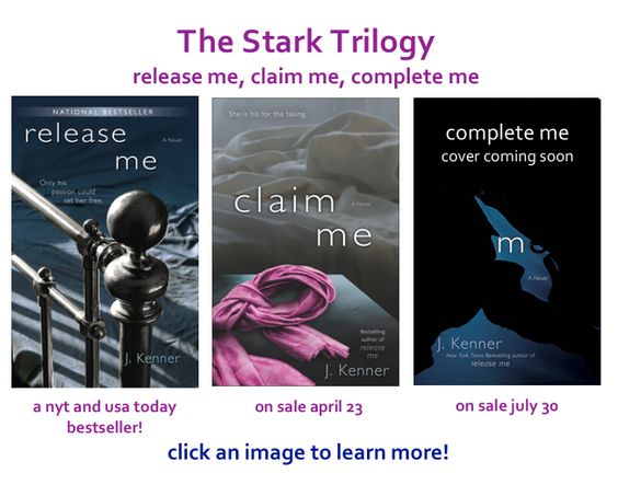 Stark Trilogy by J. Kenner erotic romance