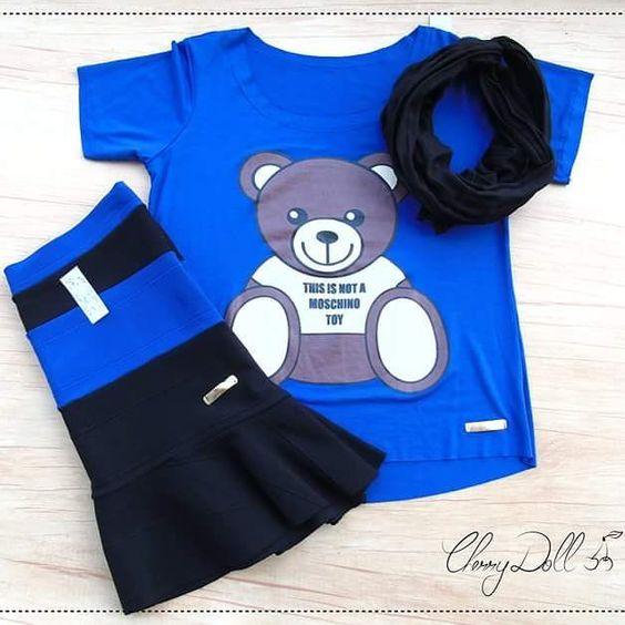 Look fofo de sábado camiseta #ursinho  saia de bandagem  #turbante preto básico pra combinar com  T-U-D-O que você já tem  #lojavirtual #ecommerce #urso #lojasdoig #fofices #mood #modafeminina #cuteshop #lovely #diadecompras #camisetas #roupasdoig #instacool #tshirt #moschinotoybear by cherrydoll182