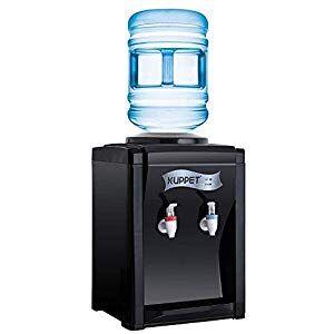 Kuppet Countertop Water Cooler Dispenser 3 5 Gallon Hot Cold Water