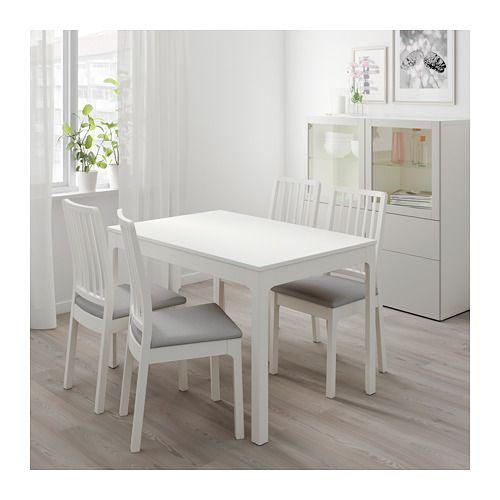 Ekedalen Ausziehtisch Weiß Ikea Deutschland