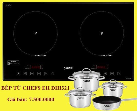 Khuyến mại hấp dẫn khi mua bếp từ Chefs EH DIH321