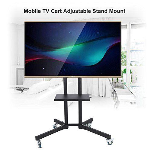 "UNIVERSAL TV STAND BASE TABLETOP VESA MOUNT FOR LCD LED PLASMA TV 32-65/"""
