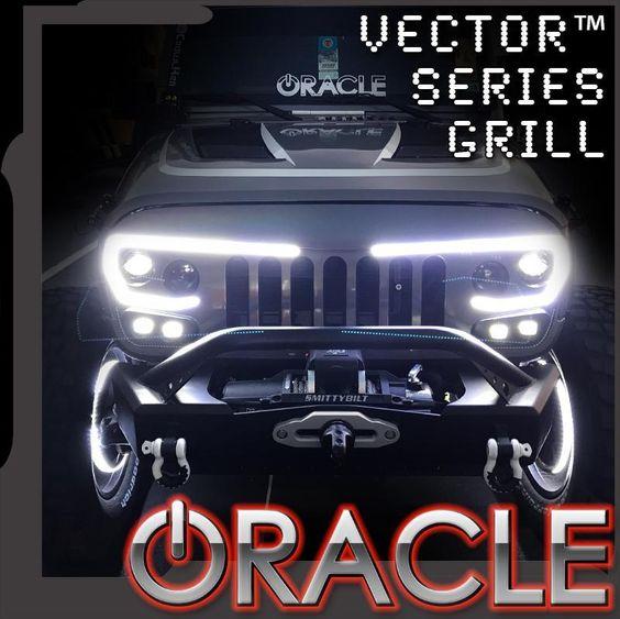 Vector Pro Series Full Led Grill For Jeep Wrangler Jk Jeep Wrangler