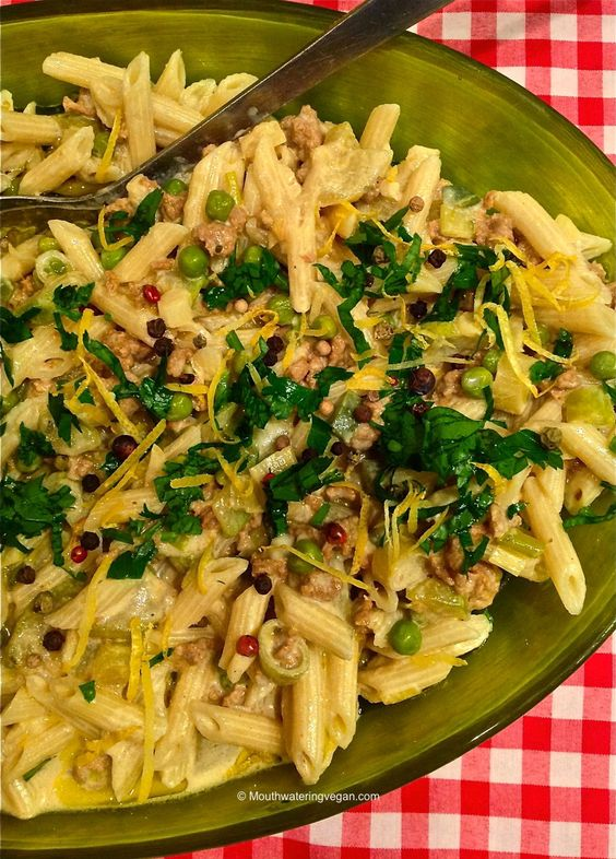 Creamy Penne Bolognese With Spice N Zest - Vegan