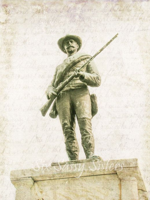 Soldier Statue Print Or Canvas Primative Soldier Civil War Statue Civil War Photography Rustic Wall Decor Soldier Rustic Decor Wall Art With Images Sisters Art Civil War Photography Sister Photography