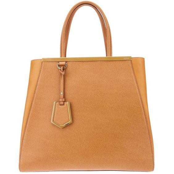 FENDI tote bag ($1,950) ❤ liked on Polyvore