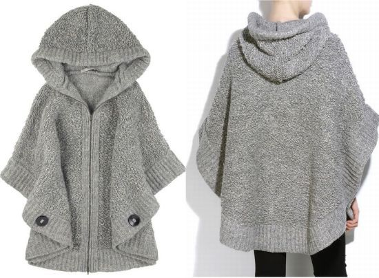Knit Poncho Patterns Image collections - handicraft ideas home ...