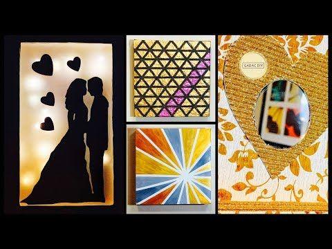 6 Diy Room Decor Gift Ideas Gadac Diy Wall Art Room Decorating Ideas Diy Crafts Wall Decoration Youtube Cuadros
