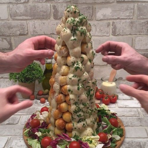 Piramide De Bolinhas Para Impressionar A Familia Video