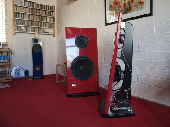 Eminence Alpha 15a And Visaton B200 In Open Baffle Open