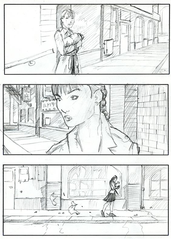 StoryboardTemplate  Directing    Storyboard And Pre