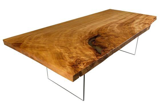 wertbeständige Tische und Design Tische aus einzigartigem Kauri - au ergew hnliche schlafzimmer betten