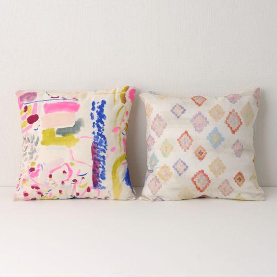 nani IRO sumau : cushion covers