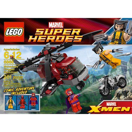 LEGO Marvel Super Heroes Wolverine's Chopper Showdown Play Set: Building Blocks & Sets : Walmart.com