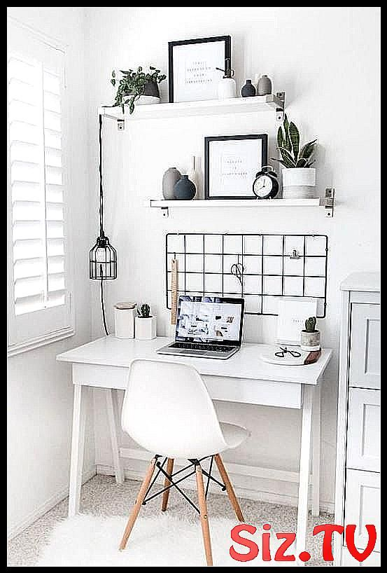10 Cute Desk Decor Ideas For The Ultimate Work Spa Chic Creating Cubicle Cute Decor Decoration Small Space Bedroom Minimalist Bedroom Home Decor Bedroom