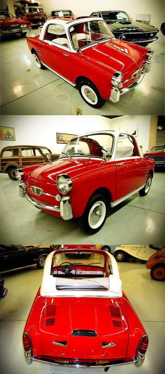 1959 AUTOBIANCHI TRANSFORMABLE (2 door)