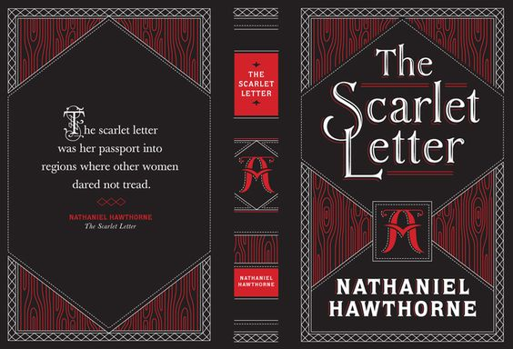 Classic Book Cover Letter : The scarlet letter by jessica hische printable book