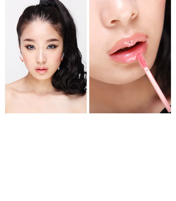 3 Concept Eyes Lip Lacquer - awardwinning lipglosses from Korea. Modeled by ulzzang #parksora. #eyecandys #3ce #lipgloss #lipstick #makeup #beauty #cosmetics #korean #kpop