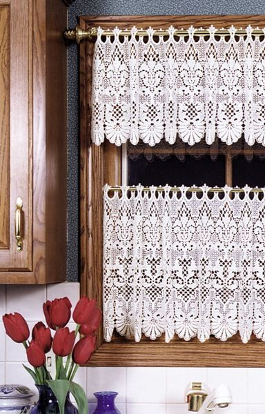 Lace Curtains Rembrandt And Macrame On Pinterest