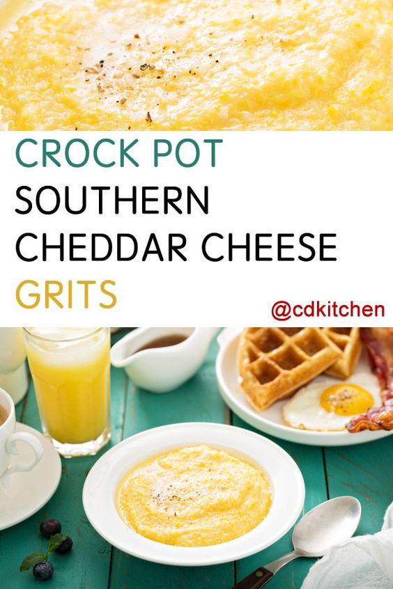 Made with Cheddar cheese, water, grits | CDKitchen.com