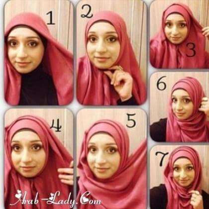 موسوعه طرق لف الطرح والحجاب للمناسبات والأفراح 2020 للمحجبات 563997e6dd334cffc5e2
