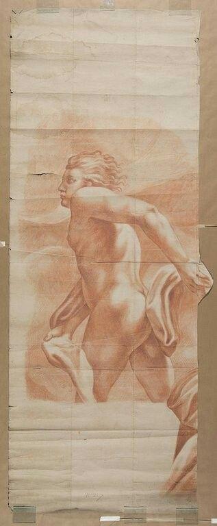 Copie d'après ALLEGRI Antonio Ecole lombarde