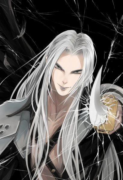 sephiroth anime wallpapers for your phone pinterest