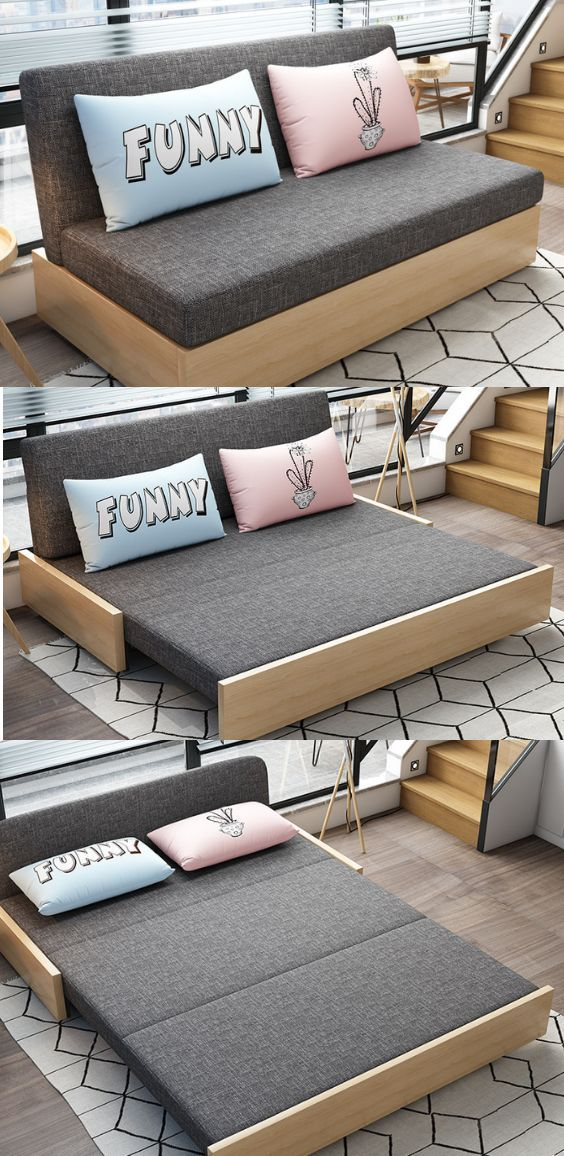 Sleeper Sectional Sofa For Small Spaces In 2020 Sofas For Small Spaces Sofa Bed For Small Spaces Small Space Bedroom