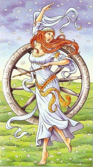 Universal Goddess Tarot: Universal Goddess Tarot -- Wheel Of Fortune