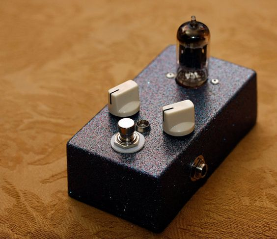 12au7 Tube Overdrive Pedal by Amps 'R' Us  #etsy