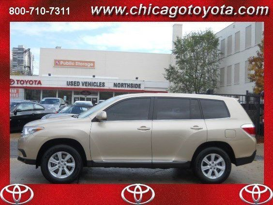 2013 Toyota Highlander, 7,418 miles, $27,685.