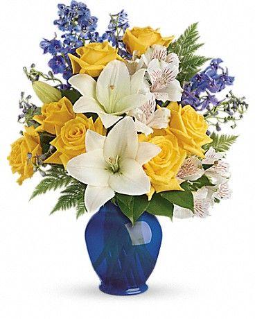 Teleflora's Oceanside Garden Bouquet - Teleflora: