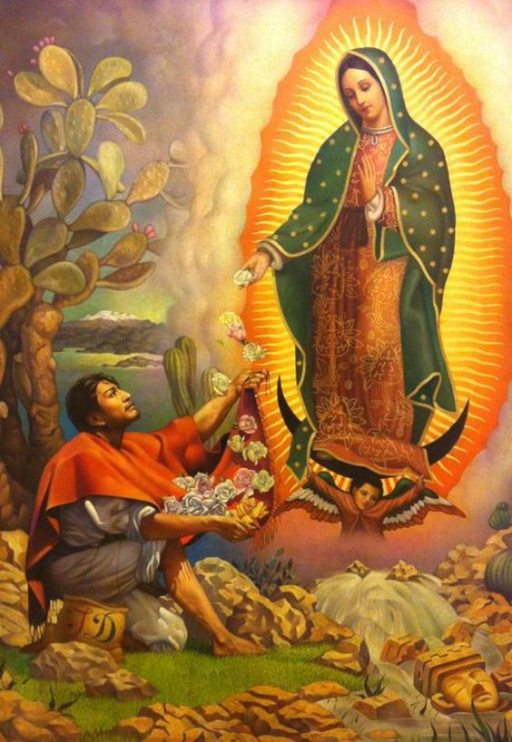 La Guadeloupe/Our Lady of Guadalupe Image