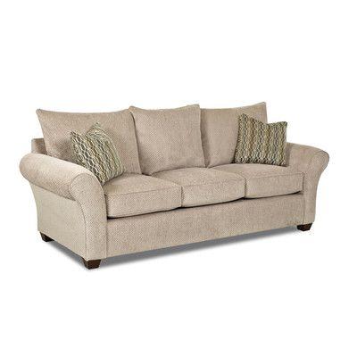 """Klaussner Furniture Finn Queen Dreamquest 96"""" Sleeper Sofa"""