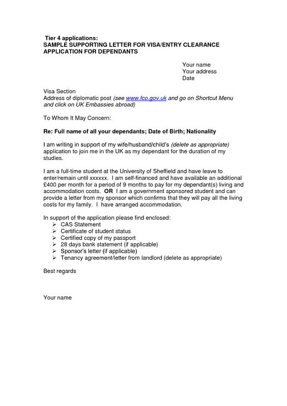 online cover letter format uk