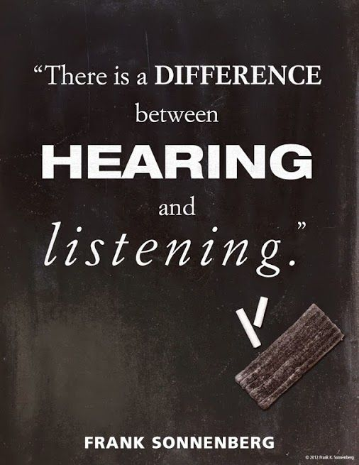 hearing and listening Listening vs hearing hearing is the act of perceiving sound and receiving sound waves or vibrations through your ear listening is the act of hearing a sound.