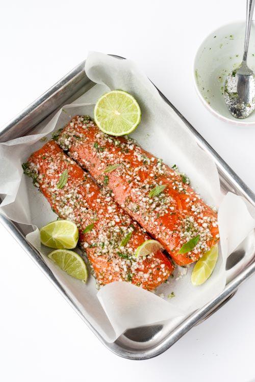 Gravlax de saumon Verveine & Citron vert