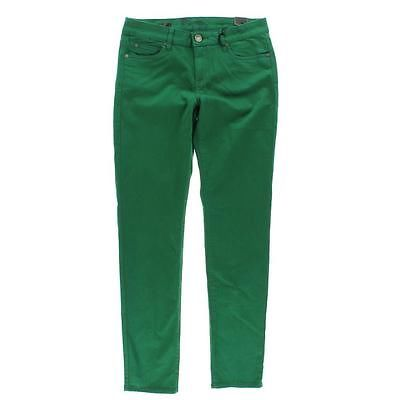 Kut From The Kloth NEW Diana Green Denim Colored Skinny Jeans Bottoms 16 BHFO